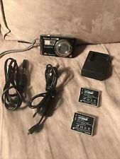Panasonic LUMIX DMC-FH27 16.1MP Digital Camera w/ Charger, Cables, 3 Batteries