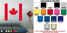 Canada Canadian Flag Decal Sticker Wall Art Living Room House Decor V2