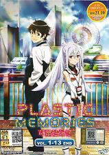 Anime DVD Plastic Memories Vol. 1 - 13 End Complete Japan Animation Box Set