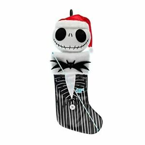 "Jack Skellington HEAD 20"" 3D Holiday Stocking The Nightmare Before Christmas"