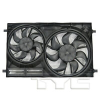 Dual Radiator & Condenser Cooling Fan Assembly for 15-19 Ford Transit 3.5L/3.7L
