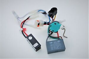 HUNTER CEILING FAN NEW PARTS -2222 WIRING HARNESS(CAPACITOR/REV.SW./POWER SWITCH