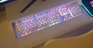 Redragon K550 Mechanical Gaming Keyboard, RGB LED Backlit Switches (White)