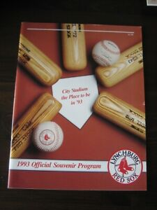 Lynchburg Red Sox 1993 Official Team Program-NEW
