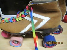 RIEDELL Old School Suede Speed Skates size 2, Boots only