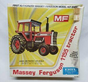Vintage Massey Ferguson 1155 Tractor Model Kit By Ertl 1/25 Scale SEALED!