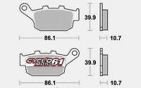 Plaquettes de frein arrière Triumph Tiger 800 2011 à 2016 (S1070)