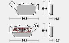 Pastiglie freno posteriore Honda XL 600 V Transalp 1991 à 1999 (S1070)