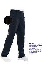 Trousers Cook Isacco Vienna Comfortable Pizza Chef 064151 Italy