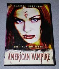 American Vampire *RARE opp *HORROR *HALLOWEEN