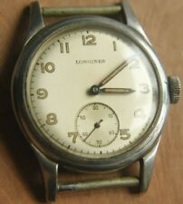 LONGINES Sei Tacche Radium dial Military watch