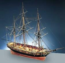 """Exquisite, Detailed Wooden Model Ship Kit by Caldercraft: the """"HMS Snake"""""""