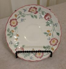 Churchill Briar Rose England China  Saucer