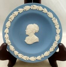 Wedgwood JASPERWARE Miniature Collector Plate Blue DR. JANET Z. BRIGGS