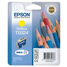 GENUINE AUTHENTIC EPSON T0324 YELLOW INK CARTRIDGE T03244010 - Sealed