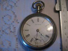 watch case company- silverode Ca.1902 Waltham pocket watch 18 Philadelphia