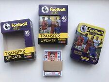 TIN v Transfer UPDATE SET of 48 stickers - Panini Football 2020 Premier League f