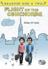 Flight of The Conchords Season 1 & 2 DVD R4 Sent TRACKED