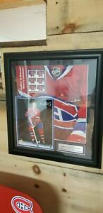 Nice Frameworth and Canada Post limited edition Jean Beliveau autograph / stamp