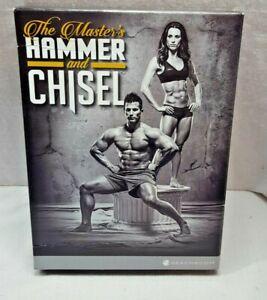 Beachbody- The Master's Hammer and Chisel - 6 DVD Workout Set + Calendar