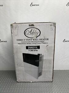 Ashley DVAG11L Direct Vent Heater Propane Gas Wall Furnace 11,000 BTUs Q-14