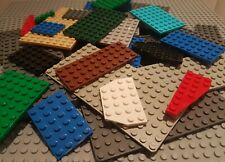 Genuine Lego Base Plate Building Base Board Strips Bases in Mixed Colors