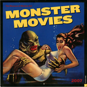 2007 Monster Movies Calendar • Museum of Modern Art • MoMA • Mostly Universal