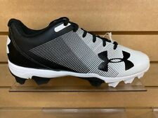 UnderArmour Leadoff Low RM (1297317) Baseball Cleats-Black/ White-Brand new