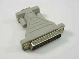 Generic Adapter Converter DB25 Male to DB9 Female (DB25 to DB9)