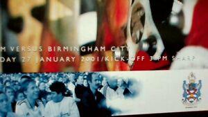 Fulham v Birmingham City - 27 January  2001