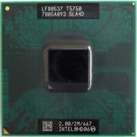 Intel Mobile Core 2 Duo T5750 2.0GHz 2M 667FSB Socket P LP CPU SLA4D