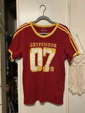 The Wizarding World of Harry Potter Gryffindor Quidditch Jersey Shirt - Size M