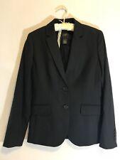J Crew Womens Blazer Size 0 Black