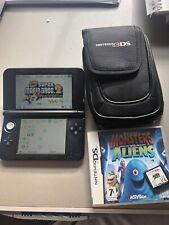 Silver Nintendo 3DS XL Bundle - New Super Mario Bros 2 Pre Installed