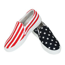 Joshua Sanders Slip On The Stars and Stripes Men's Shoes Made in Italy Size 40
