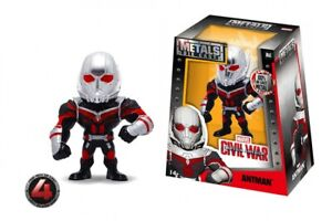 "Metals Civil War 4"" Die-Cast Figure M61 Ant-Man Jada Toys, 2016 Fig. #594 6/21"