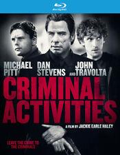 Criminal Activities (Blu-ray Disc, 2016) ex-rental