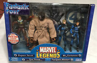 Marvel Legends FANTASTIC FOUR 4-Pack Box Set 2005 ToyBiz NEW!