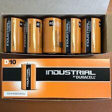 10 x Duracell D Size Industrial Procell Alkaline Batteries LR20 MN1300 D Cell