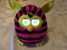 Hasbro Furby Boom  - STRIPES BLACK/PINK - 2012 - Rare