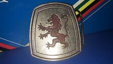 MEDICI Belt Buckle LOGO Bicycles NOS Made Exclusively For MEDICI BICYCLE CO. NEW