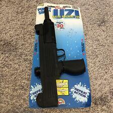 Vintage UZI Water Squirt Machine Gun 80s Agglo MOC Pump Action New Pistol