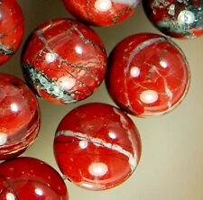 "10mm Natural Red River Jasper Round Beads 16"""