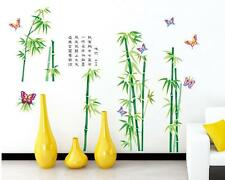 Green bamboo Home Decor Removable Wall Sticker/Decal/Decoration