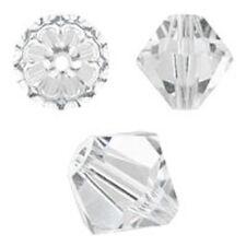 Genuine Swarovski Crystal Bicone. Crystal Color. 4mm. Approx. 144 PCS. 5328
