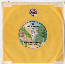 "Van Morrison - The Eternal Knasas City 7"" Single 1977"