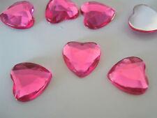 Scatter Table Confetti/Decorations/Gem/Crystal/Diamond 10mm Heart shaped Weddin