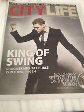City Life - Feb 28 2014 - Michael Buble Joe Lycett Disclosure Alison Goldfrapp