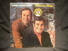 TONY SANDLER & RALPH YOUNG - Honey Come Back - CAPITOL ST-449  - SEALED LP