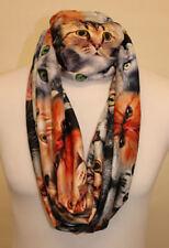 Markenlose Damen-Schals & -Tücher aus Chiffon Katzen